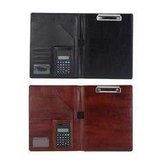 Clipboard Padfolio Business Office Document Organiser With Calculator