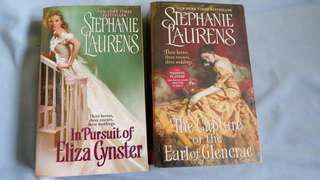 STEPHANIE LAURENS Cynster Novels (Historical Romance)