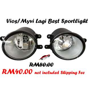 Vios & Myvi Lagi Best Sportlight Fog Lamp