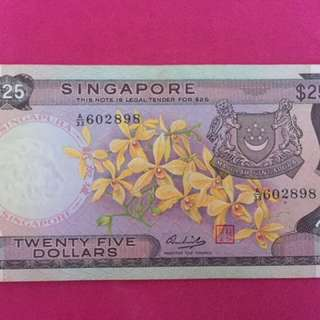 Orchid Banknotes