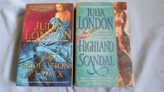 JULIA LONDON Historical Romance Novel