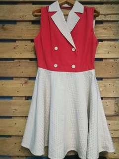 #Preloved vintage swing dress / A-line