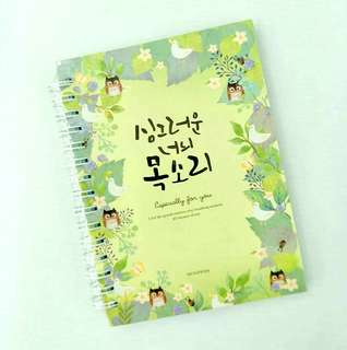 [Ready stock]Korean style notebook