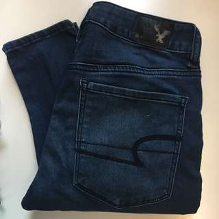 American Eagle Outfitters Hi-rise Jeggings 高腰牛仔褲
