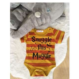 Little Harry Potter Fan Romper