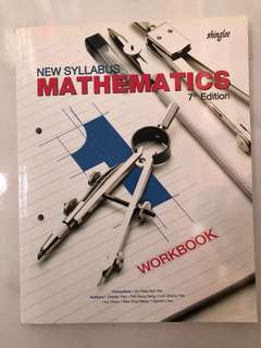 New Syllabus Mathematics 7th Edition workbook 1
