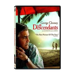 BRAND NEW DVD - THE DESCENDANTS (ORIGINAL USA IMPORT CODE 1)