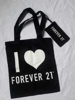 Forever 21 Bag w/ Free Pouch