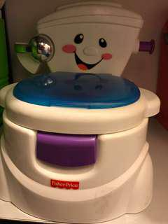 To Bless: Fisher Price Potty