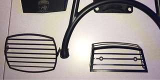 Scomadi front and rear lamp grill