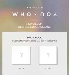 NU'EST W - Who You (Preorder)