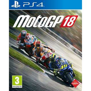 [NEW NOT USED] PS4 MotoGP 18 Sony PlayStation PQube Racing Games