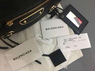 Authentic Balenciaga Metallic Edge Hip
