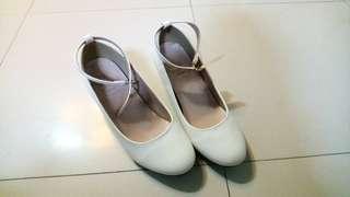 Kawaii Harajuku White Heels