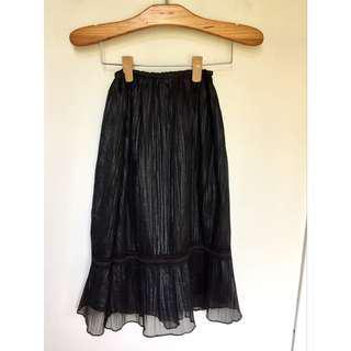 所有商品皆可議價‼️ 穿過一次 專櫃品牌 黑色魚尾紗裙