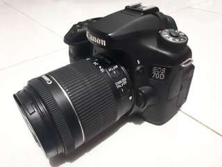 kamera canon eos 70D like new
