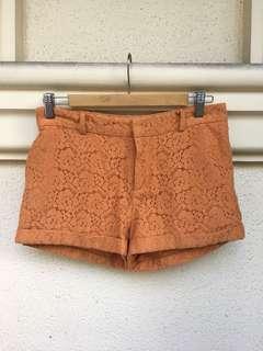 Forever 21 Orange Shorts