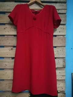 #Preloved red dress