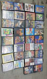 Sega mega drive games 36 pieces