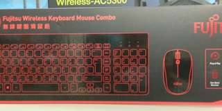 Fuijtsu KX200 Wireless Keyboard Mouse Combo