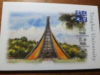 🚚 東海大學勞作成長明信片(全8張 附卡片盒)