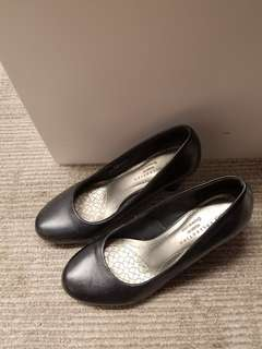 Marks & Spencer Black Shoes, Office Shoes