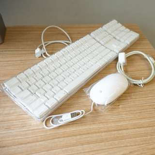 Brand New Apple White USB Keyboard (A1048) and Mouse (A1152)