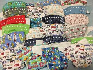 Reusable Cloth Nappies/ Diapers