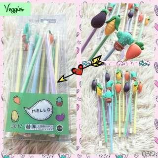 12pcs Veggies pen