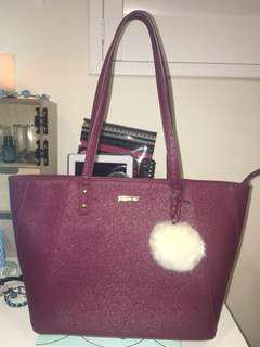 Forever New Burgandy Bag