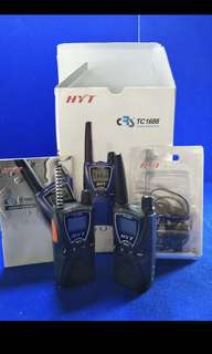 HYT Walkie Talkie ( CRS TC 1688 )