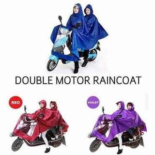 Dual motor raincoat