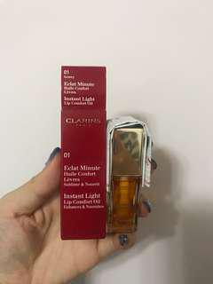 Clarins lip comfort oil 01