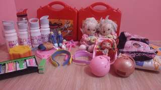 Toy bundle with lots of freebies