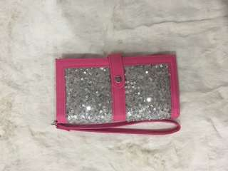 Pink x Silver Wallet/Coin purse