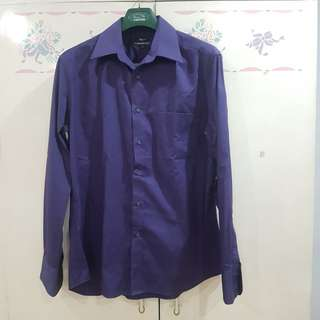 G2000 Men Purple Long Sleeves