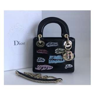 Authentic Lady Dior Mini Limited Edition