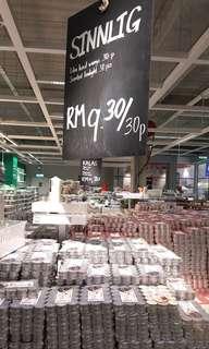 IKEA SINNLIG Scented Tealight/Lilin Kecil Wangi ×30
