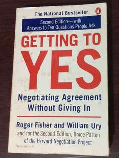 🚚 GETTING TO YES: Negotiating Agreement Without Giving In