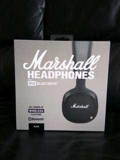 Marshall MID Bluetooth On Ear Headphones. Authentic unit from JuntoStarc! Cheapest for SEALED GENUINE!