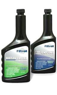 [現貨]Filtroil (美國飛卓) 強化納米機油王354ml