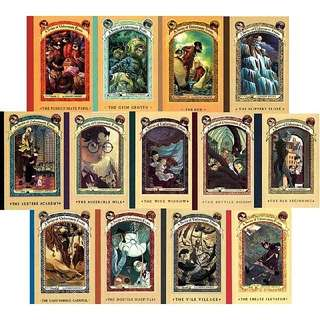 A Series of Unfortunate Events ebook