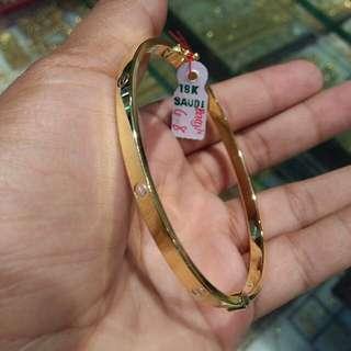18k Saudi Gold/pawnable