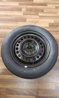 "Spare Tyre 15"" from Honda City"