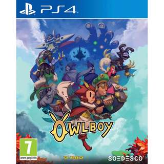 [NEW NOT USED] PS4 Owlboy Sony PlayStation Soedesco Action Games