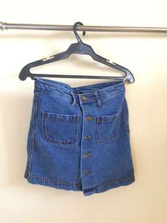 Maong skirt/ denim skirt