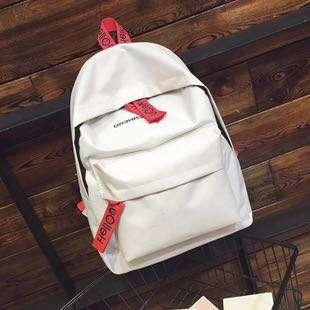 Hello Superhero Simple Colored Canvas Backpack Hello Superhero Simple Colored Canvas Backpack