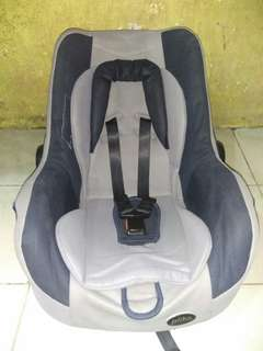 Car seat ( grey-navy )