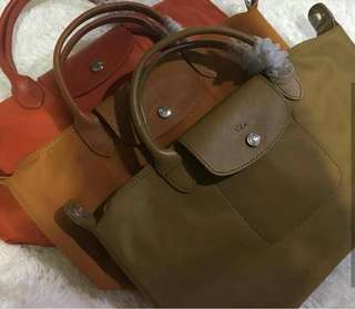 Authentic overruns Longchamp Neo Short handle