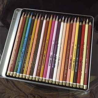Koh-i-noor Polycolor 24 Artists' Colored Pencils - Portrait